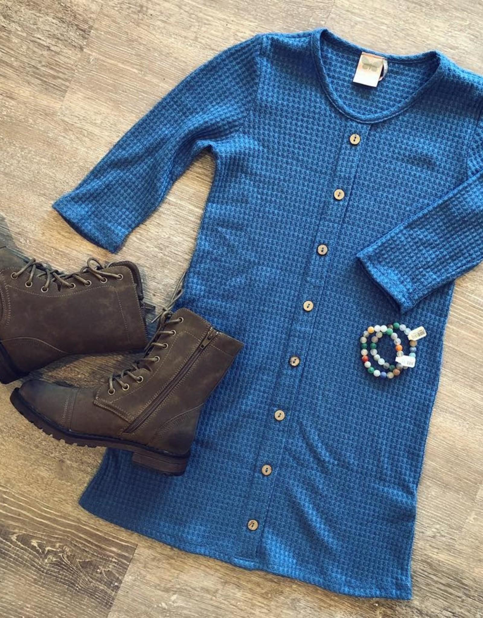For All Seasons Sherri Dress in Blue