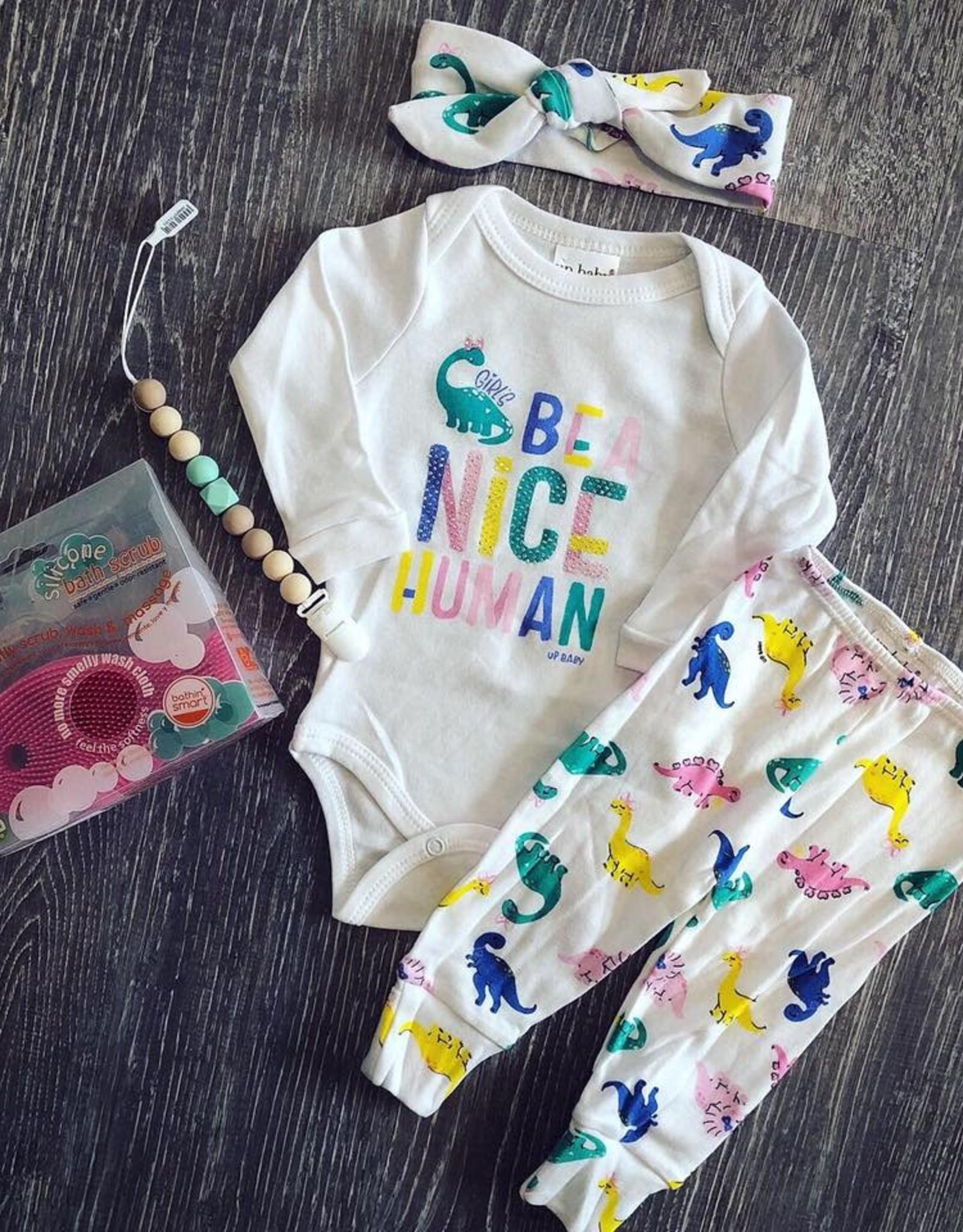 UpBaby Girl Dino Pant Set