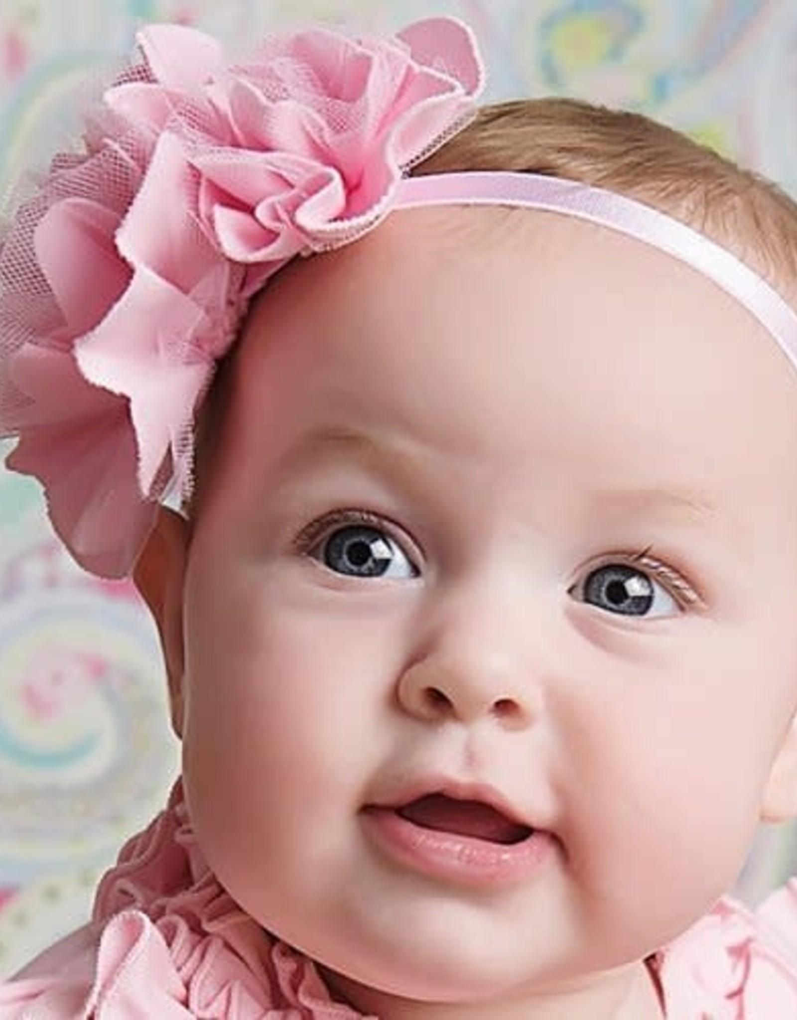 Lemon Loves Layette Rose Headband