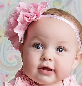 Lemon Loves Layette Rose Headband