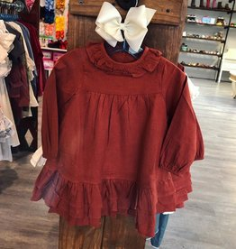 Ren & Rouge Sarah Dress in Rust