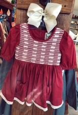 Little Prim Iris Dress in Holly