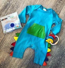 Lemon Loves Layette Dinosaur Romper
