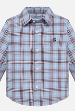 Mayoral Long Sleeve Checked Shirt