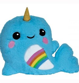 Iscream Rainbow Narwhal Scented Pillow