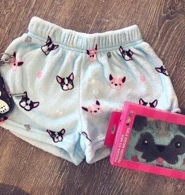 Frenchie Plush Shorts