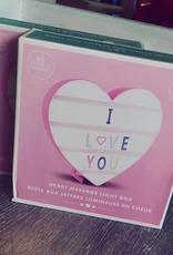 Iscream Heart Shaped Message Board