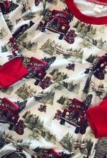 Honeydew Christmas Truck Romper