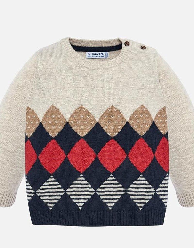 Mayoral Jumper Baby Boy Sweater in Hay
