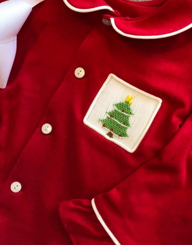 Remember Nguyen Red Pajama Set for Girls