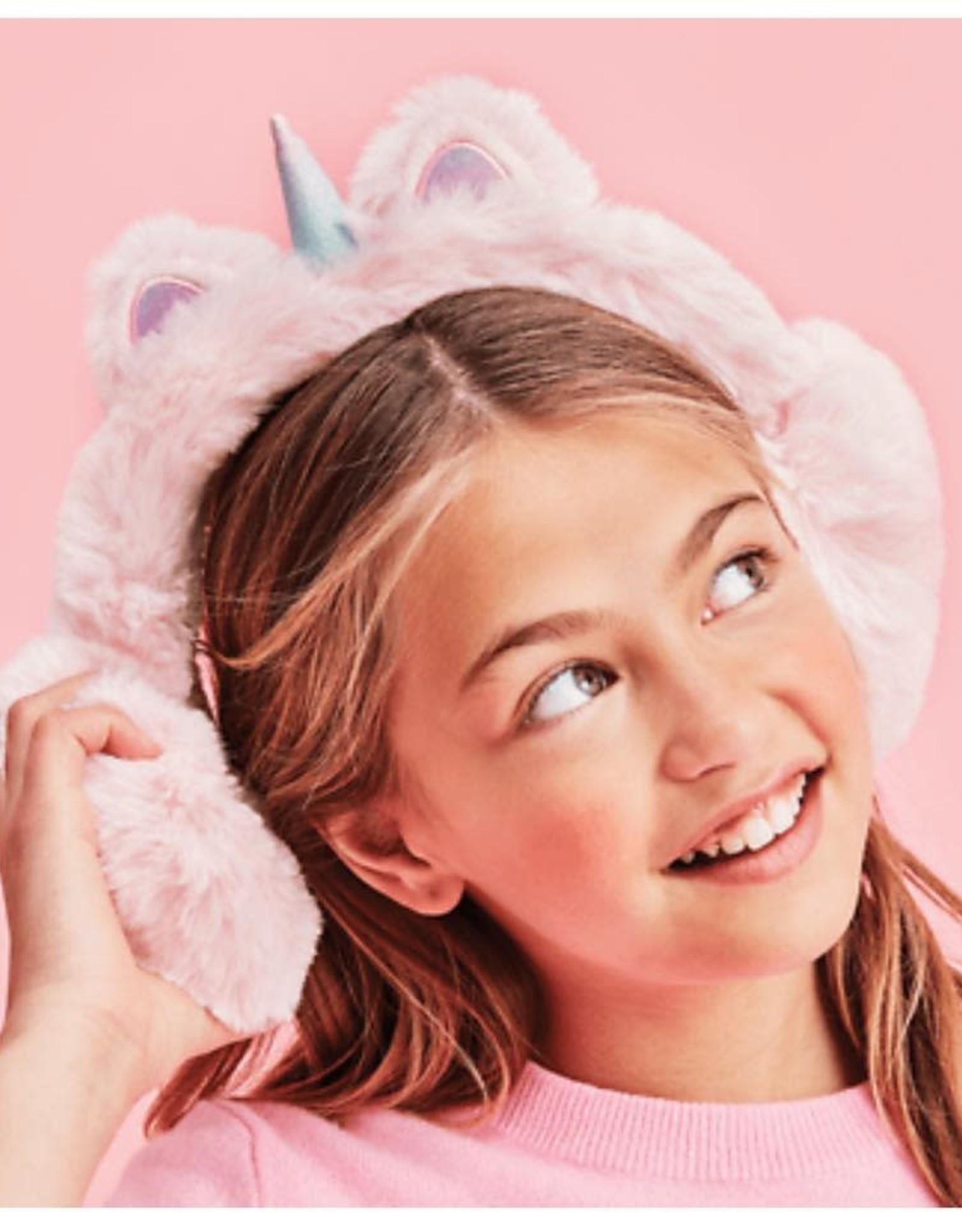 Iscream Light Pink Unicorn Ear Muffs