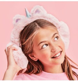 Iscream Light Pink Unicorn Ear Muffs