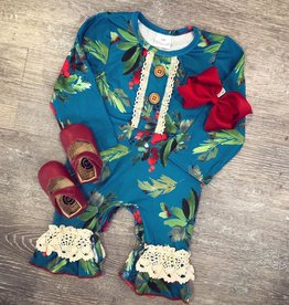 Honeydew The Livie Christmas Romper