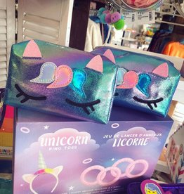 Iscream Unicorn Iridescent Cosmetic Bag