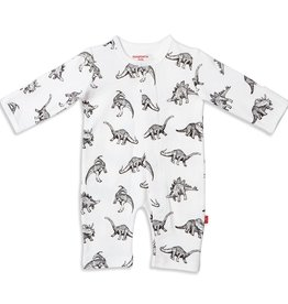 Magnetic Me Babe-a-Saurus Organic Cotton Magnetic Coverall