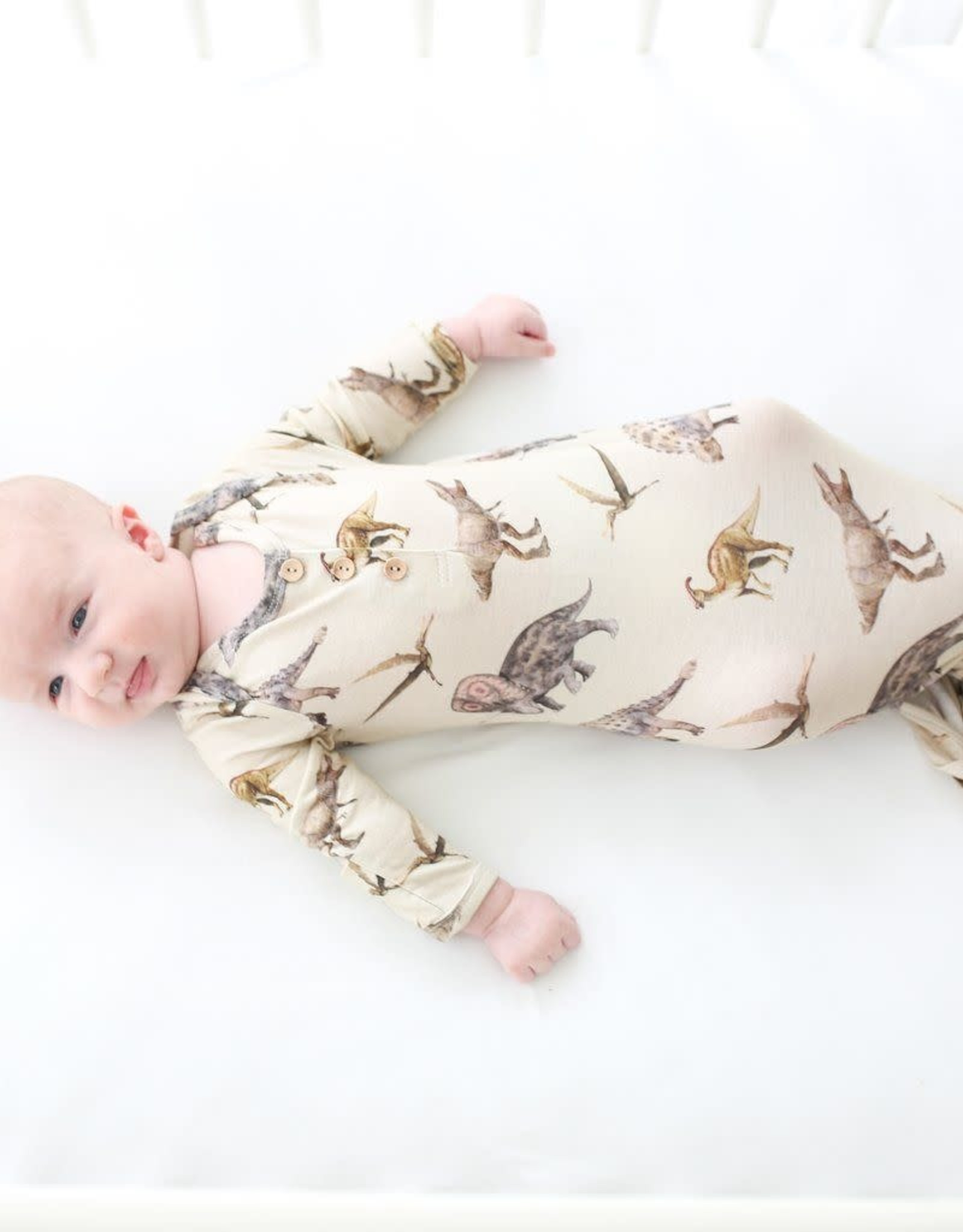 Posh Peanut Vintage Dino Knotted Gown