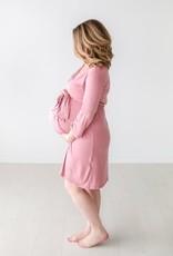 Posh Peanut Dusty Rose Mommy Robe