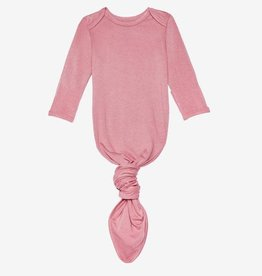 Posh Peanut Dusty Rose Knotted Gown