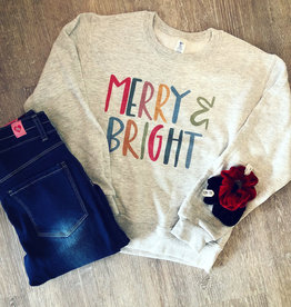 Boutique Merry and Bright Sweatshirt