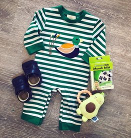 Honeydew Duck Applique Romper