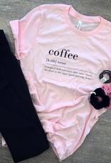 Coffee Pink Tee