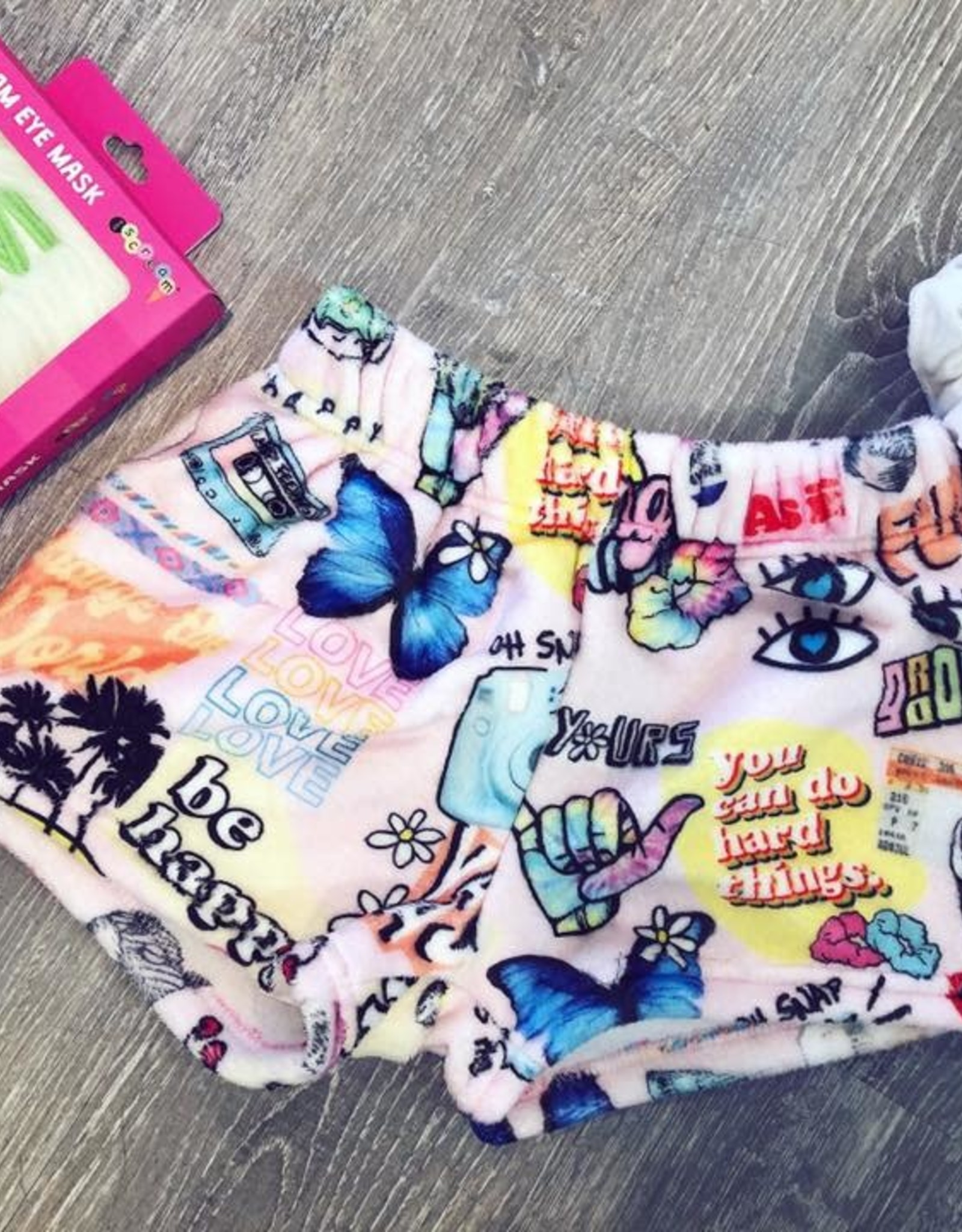 Iscream VSCO Girl Plush Shorts