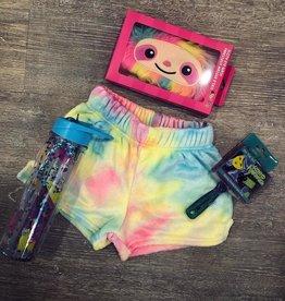 Iscream Pastel Tie-Dye Plush Shorts