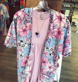 Pomelo Annie Floral Kimono