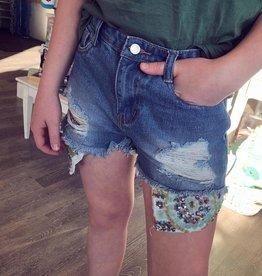 Hayden Marlee Sequin Shorts