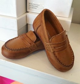 McCoy's Boys Penny Loafer in Caramel
