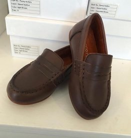 McCoy's Boys Penny Loafer in Chocolate