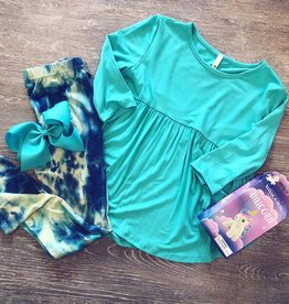 Blue TieDye Leggings