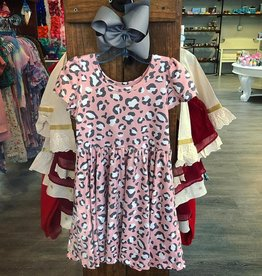 Charlies Project Pink Leopard Hugs Collection Dress