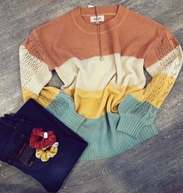 Virginia ColorBlock Sweater