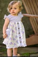 Mustard Pie Lilac Field Picnic Dress