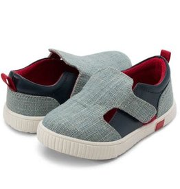 Livie and Luca Hop Sneaker in Light Denim