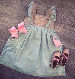 Little Prim Sky Blue Bisque Millie Dress