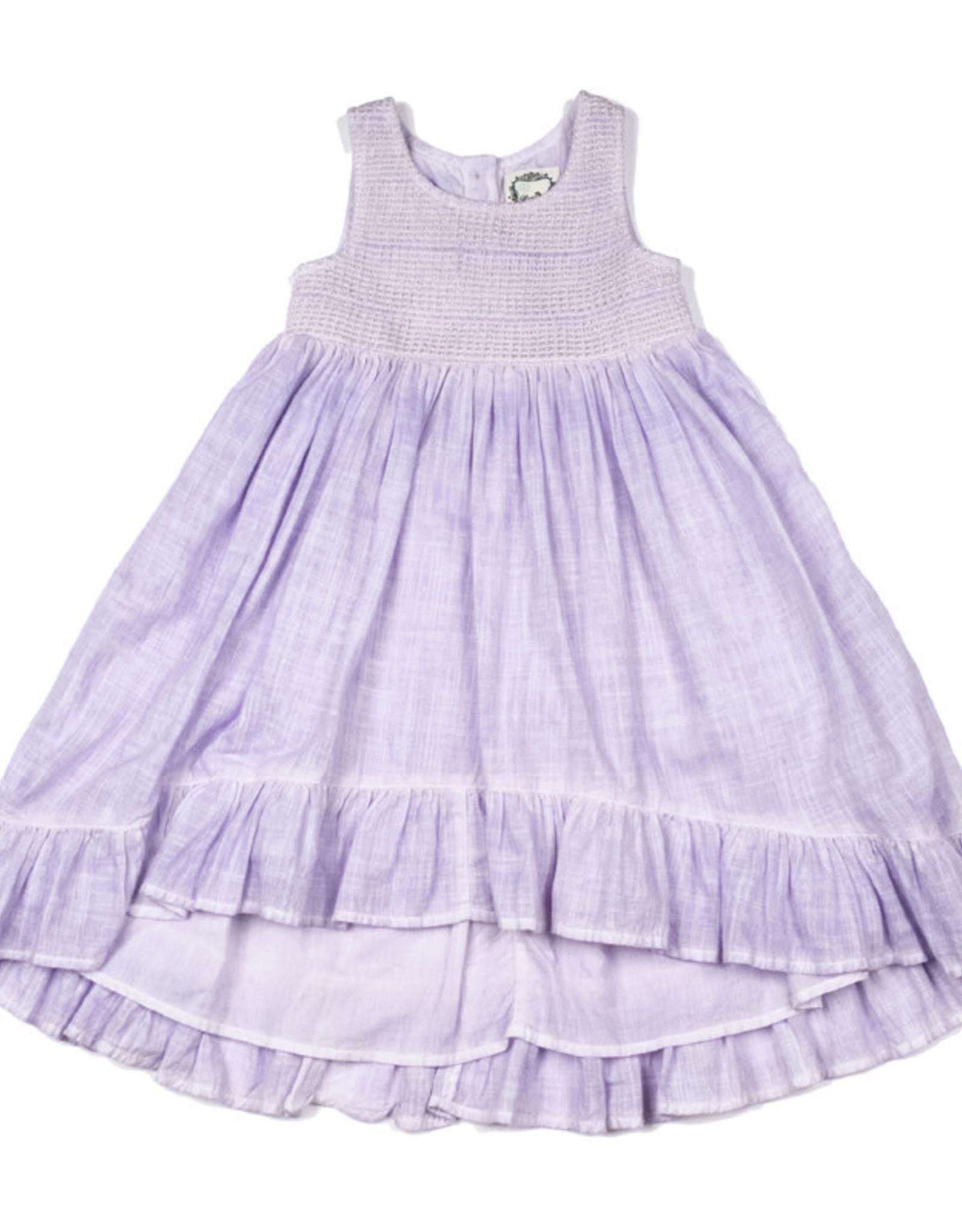 Little Prim Antique Lilac Edyn Dress