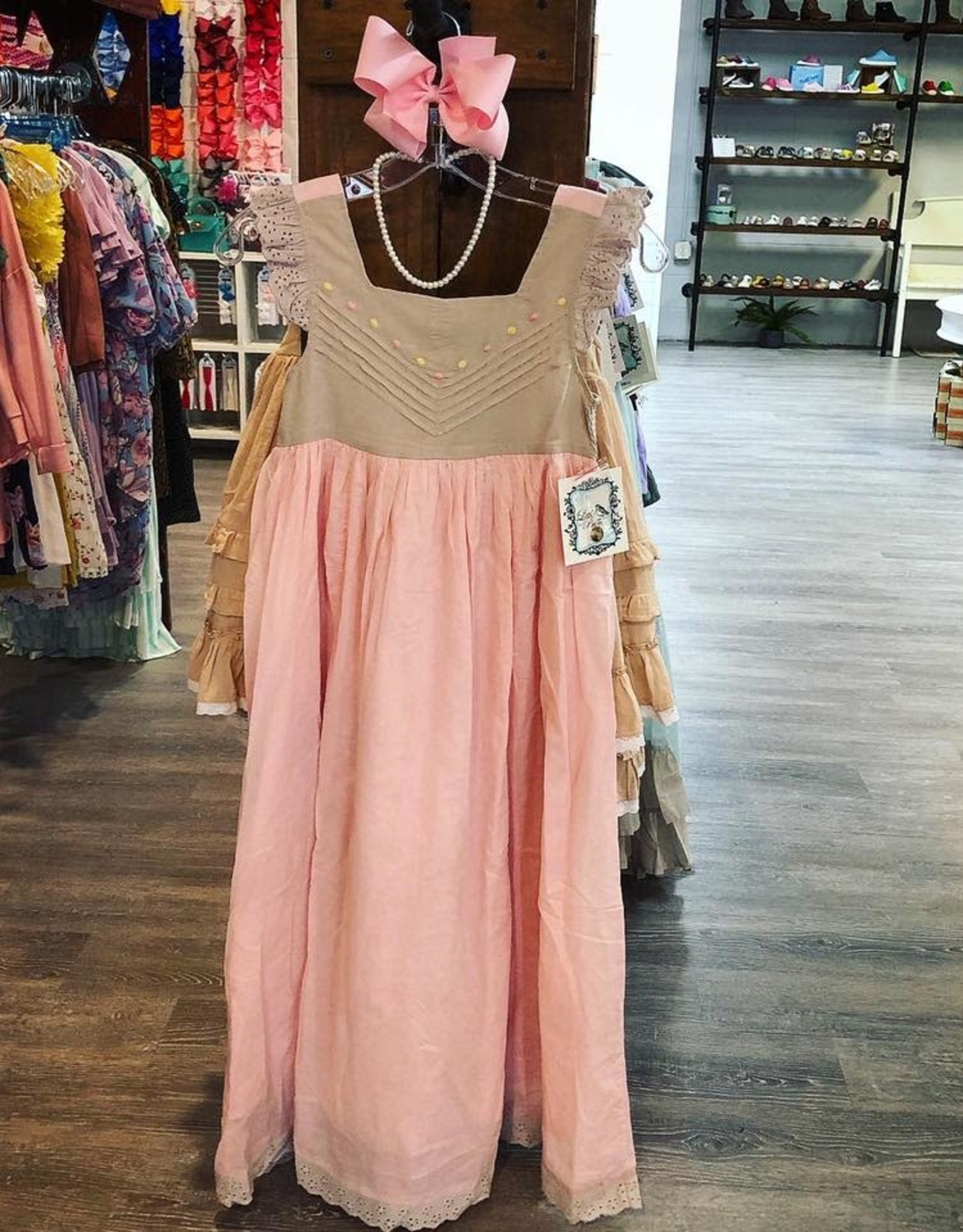 Little Prim Bubblegum Bisque Angelique Dress