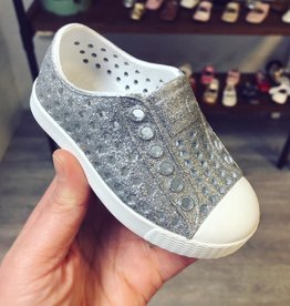 """Native Shoes Jefferson """"Bling"""" in Silver Bling"""