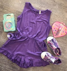 G to G Georgie Purple Romper