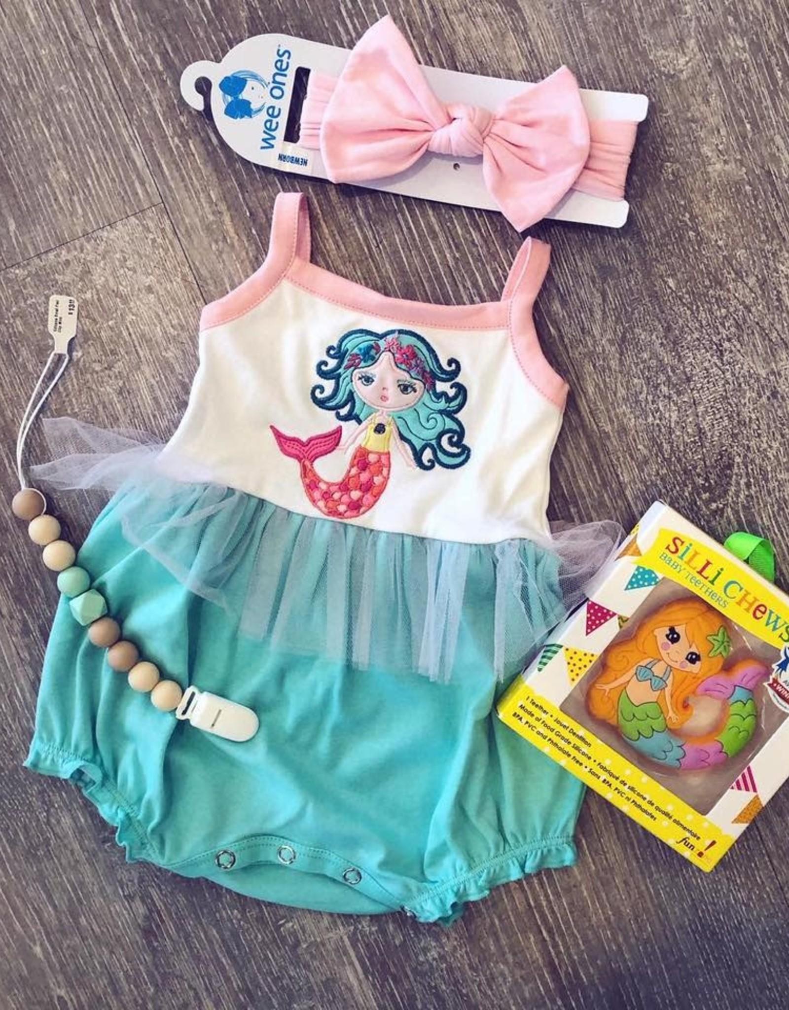 LemonLovesLime Mermaid's Wave Bubble - Aruba Blue