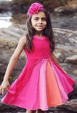 LemonLovesLime Ocean and Sky Dress -Pink