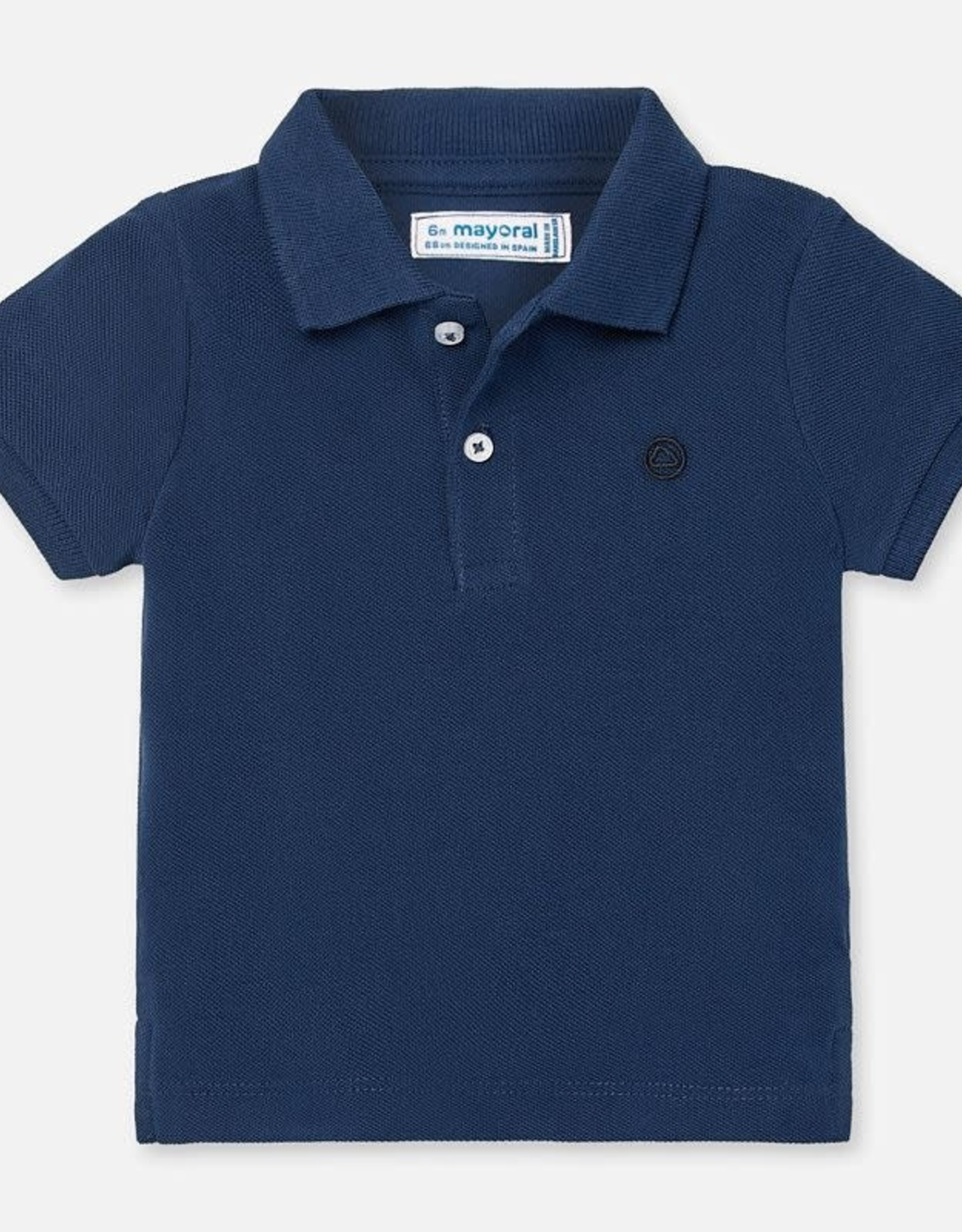 Mayoral Short Sleeve Polo Shirt in Navy