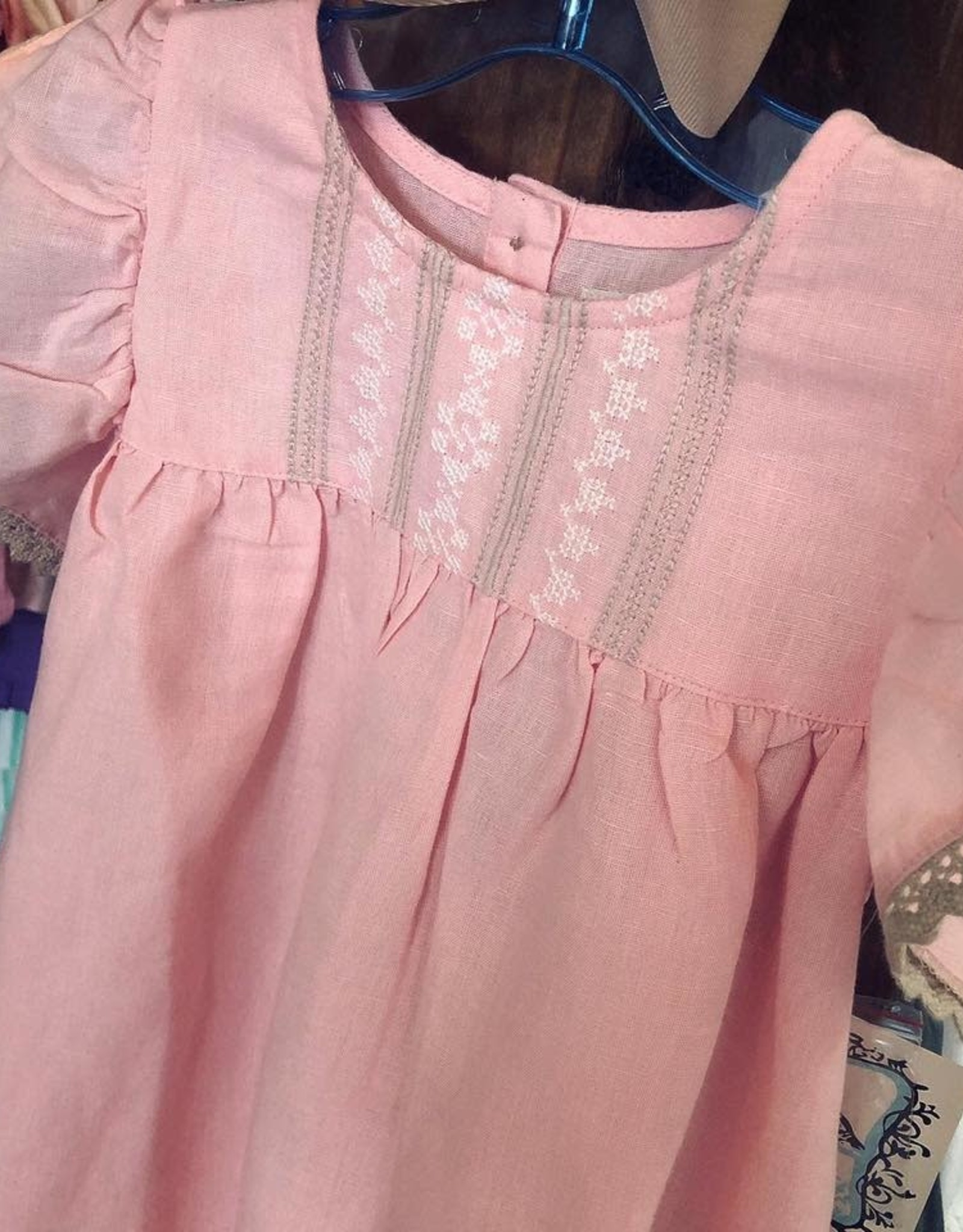 Little Prim Bubblegum Bisque Clara Dress