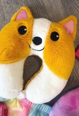 Iscream Corgi Neck Pillow