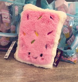 Iscream Toaster Cake Furry Pillow