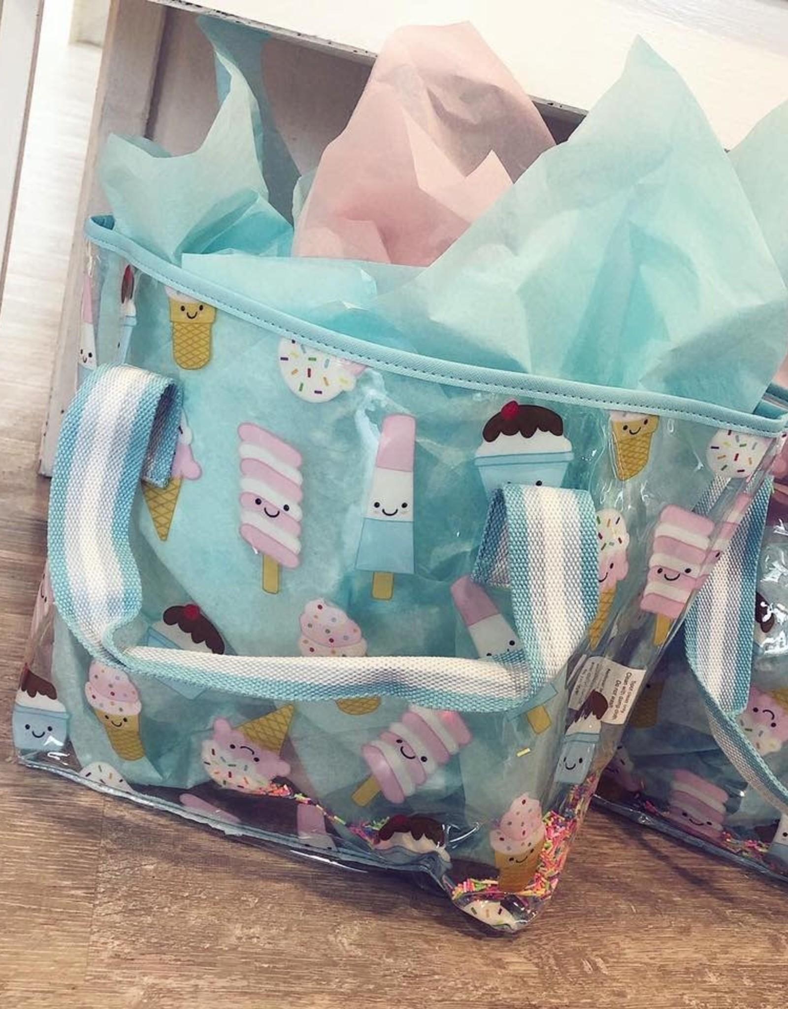 Iscream Ice Cream Treats Clear Tote Bag