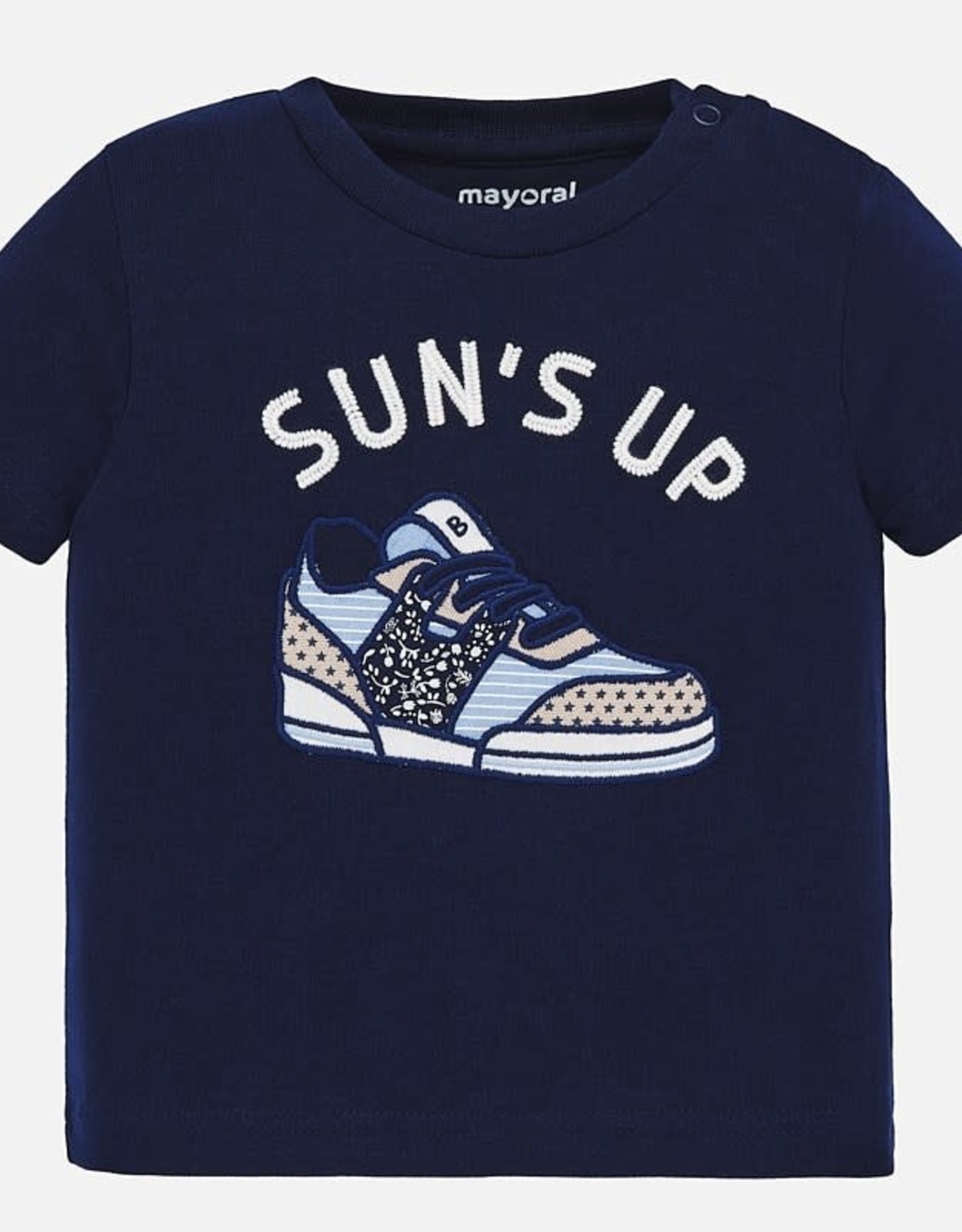 Mayoral Sneaker T-Shirt - Navy
