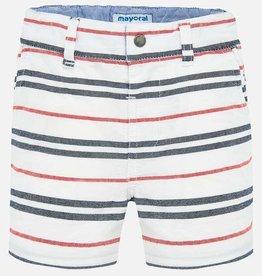 Striped Bermuda Shorts